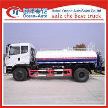 Dongfeng 10000liter euro 3 caminhão de transporte de água preço do caminhão