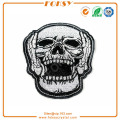 Roar Skull applique embroidery patches