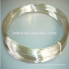 Welding and riveting silver wires
