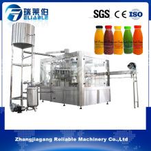 Mango Juice Processing Plant 3 in 1 Bottle Filling Machine
