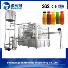 Máquina automática de llenado de jugo de manzana