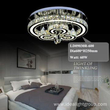 crystal lighting fixtures hot sell chandelier hotel lobby