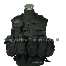 Molle Police Military Airsoft Tactical Vest (HY-V055)
