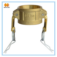 Brass Forged Dust Cap Cam and Groove Coupling