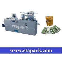 Flat plate auto blister packing machine