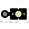 Indoor Self-Unterstützung FTTH Drop Fiber Optic Cable