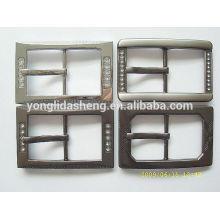 China various Zinc alloy materail Custom metal pin buckle for back packs