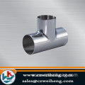 A335 P5 P9 alloy steel equal tee