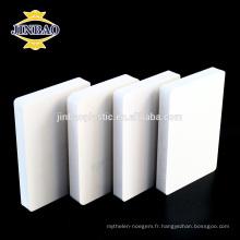 JINBAO 4X8 2.05 x 3.05 pvc panneau panneau de mousse fascia fabricant