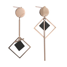 earring-164 xuping Special geometric pattern design fashion simple women's drop earrings