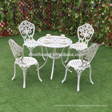 High quality garden outdoor furniture dining chair cast aluminum chairs