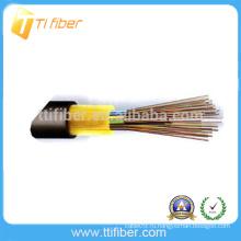 Хорошее многомодовое оптоволокно 6-го поколения GYFTY Бронированный волоконно-оптический кабель