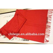rote Kaschmir Schals Halsbekleidung Schal Pashmina / Kaschmir Großhandel