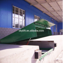 Hydraulic large warehouse ramp