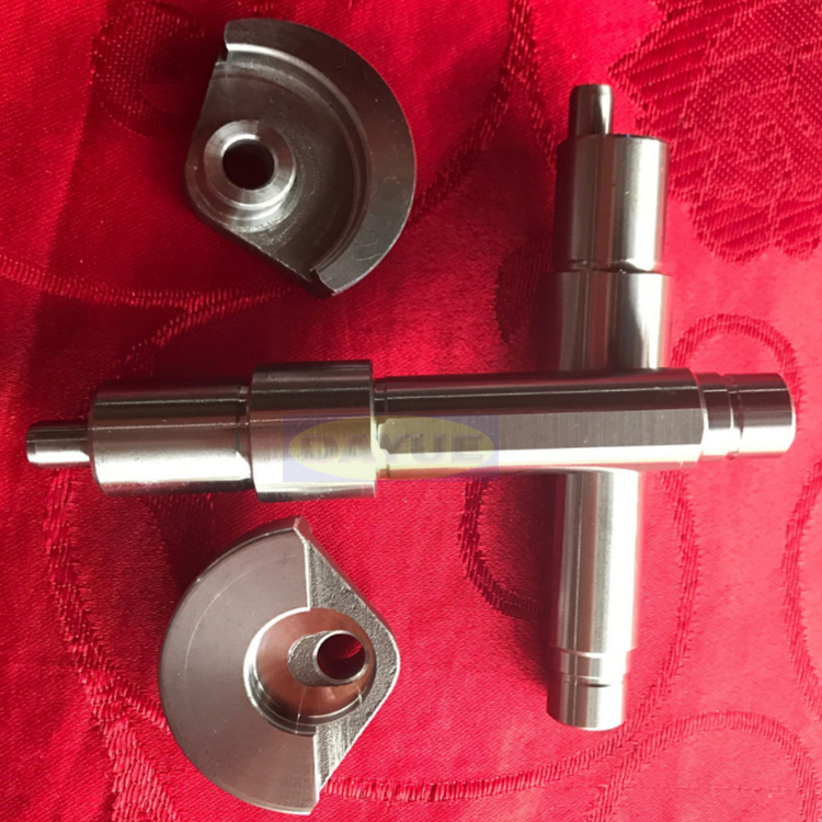 Racing engine crankshaft and eccentric shaft machining