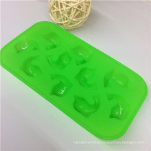 FDA High-Quality Durable Fish Siliocne Ice Cube Mold