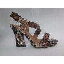 Новый дизайн дамы сандалии Чанка (HCY03-084)