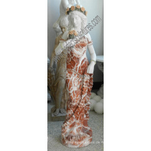 Italienischer Stein Carving Statue Garten Geschnitzte Marmor Skulptur für Hotel Dekoration (SY-C1302)