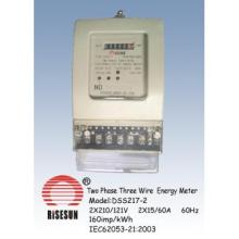Two  Phase Three Wire Energy Meter