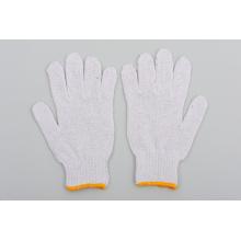 Guante de algodón guante de seguridad con descuento guantes de trabajo