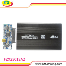 """2.5 """"benutzerdefinierte Portable HDD Case Externe Festplatte Gehäuse"""