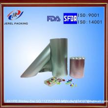 Мягкий нрав и Тип крена алюминиевой фольги Alu Блистерной фольги для фармацевтической пользы