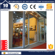 Aluminum Frame Bi Folding Door with Germany Hardware