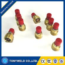 Objectif à gaz de soudage TigV 45V pour torche WP-9