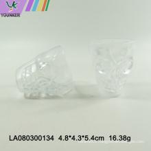 Plastic beer mug solid plastic Halloween skull mug