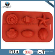 Starfish Silicone Chocolate Candy Mold Ice Cream Mold Si10