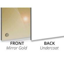 3MM Mirror Gold/Undercoat Aluminium Composite Panel