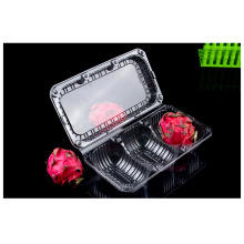 boîte de fruits en plastique PET jetable en plastique