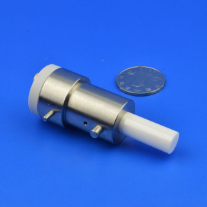 Zirconia Ceramic Rod Assembled with Stainless Steel Part