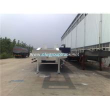 Three Axles Low-bed Semi Trailer