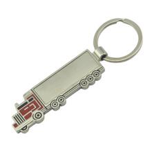 Fördernde kundengebundene Zink-Legierungs-Auto Keychain mit Farbe (F1061)