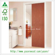Flush Wood Veneer Interior Entry Door