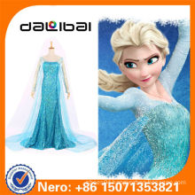 adult anna cosplay dress for Halloween women frozen princess elsa costume