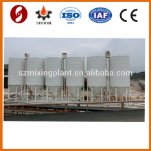 China factory piece type 200 ton cement storage silo for sale with silo top collector