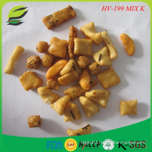 Natural color rice crackers for Europe