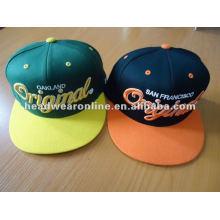 Chapéu novo ajustado do snapback do aborrecedor e chapéu
