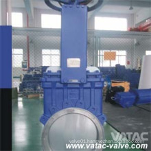 DIN Pn10/Pn16 Wafer Knife Gate Valve with Manual Operation
