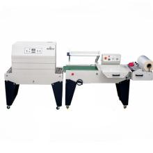 Envoltura semiautomática de la manga con la empaquetadora del encogimiento de la fábrica