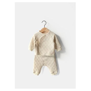 Winter Organic Cotton Baby Body Suit Wholesale Manufacture in China with Gots Certification