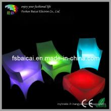 Mobilier événementiel LED