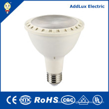 GS E26 Blanc chaud Dimmable 11W 16W LED PAR Lampe