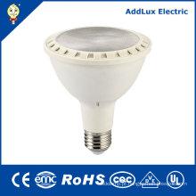 Luz de PAR de poupança de energia do diodo emissor de luz do branco quente E26 11W 16W