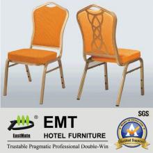 Cadeira de festa de tecido com moldura de metal forte (EMT-504)