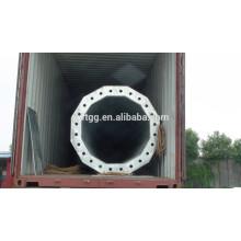 24V Hot Dip galvanizado ASTMA 153-82 Led polo de luces