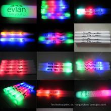 Personalizado espuma led animando palo concierto luz luz espuma stick