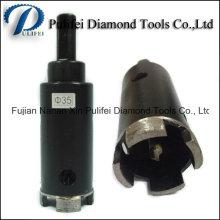 Foret de foret de diamant d'outil de foret pour le béton en pierre de granit de brique en céramique